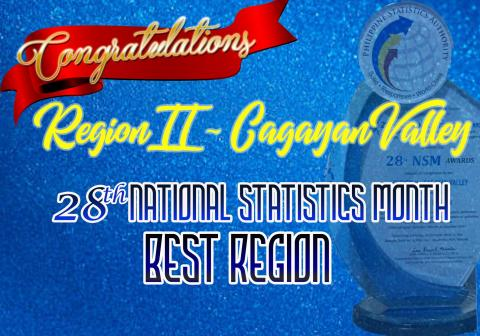 28th NSM Best Region Award