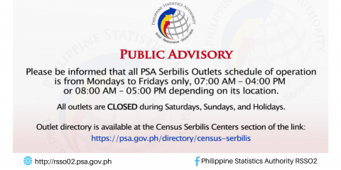 Public Advisory on Serbilis Outlet